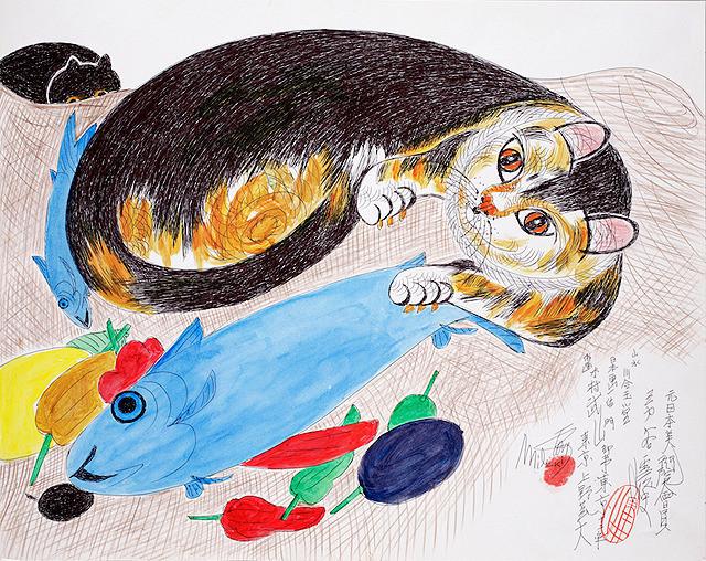 ミリキタニの猫画像
