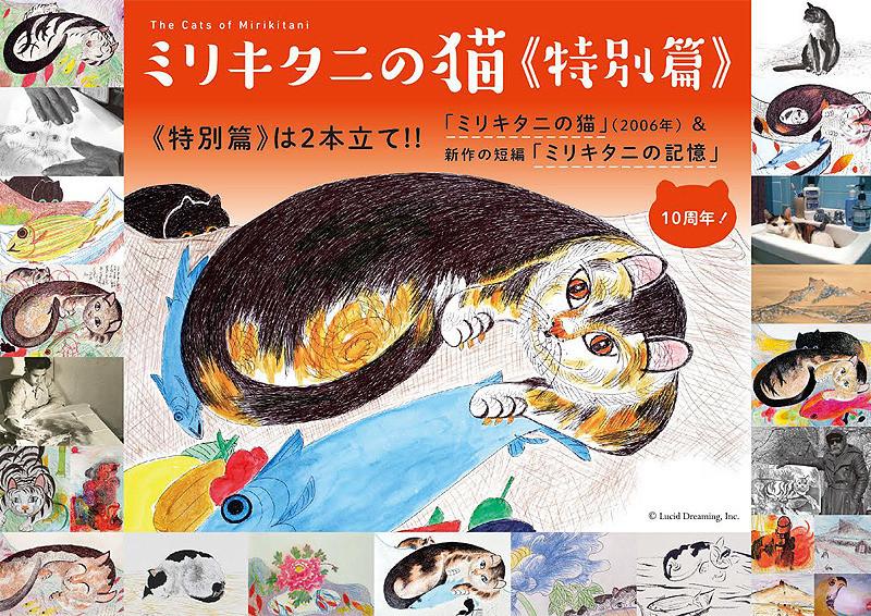 ミリキタニの猫 特別編のチラシ画像